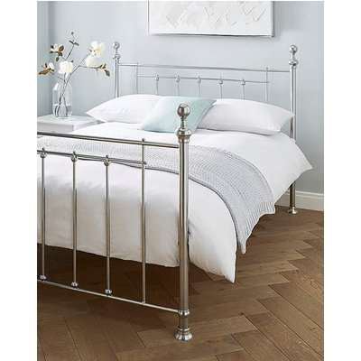 Howen Metal Bed with Quilted Mattress
