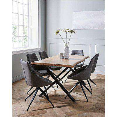 Karter Large Dining Table and 6 Chairs