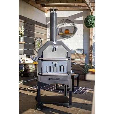 La Hacienda Lorenzo Pizza Oven/Smoker