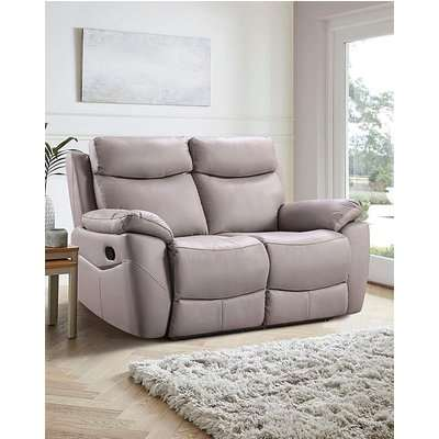 Marley Leather 2 Seater Recliner Sofa