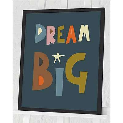 Nicola Evans Dream Big Wall Art