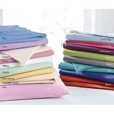 Polycotton Percale Oxford Pillowcase Pr