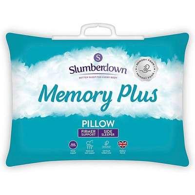 Slumberdown Memory Foam Plus Pillow