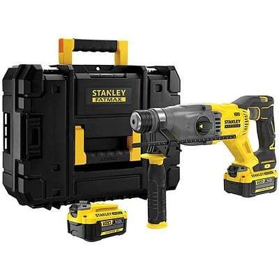 STANLEY FATMAX 18v SDS Drill + Kit Box