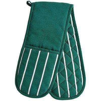 Green Stripe Double Oven Glove