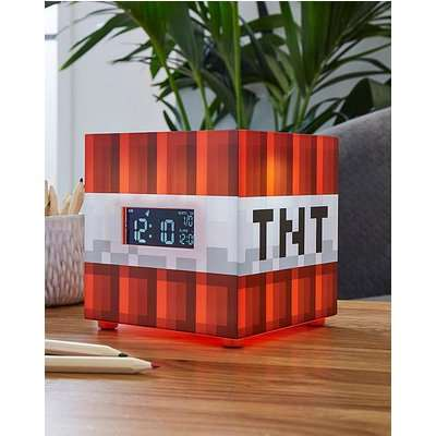 Minecraft TNT Alarm Clock