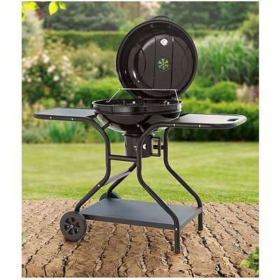 Tower Charcoal BBQ Grill w/ Tables