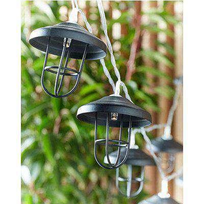 10 Trad Lantern Battery String Lights