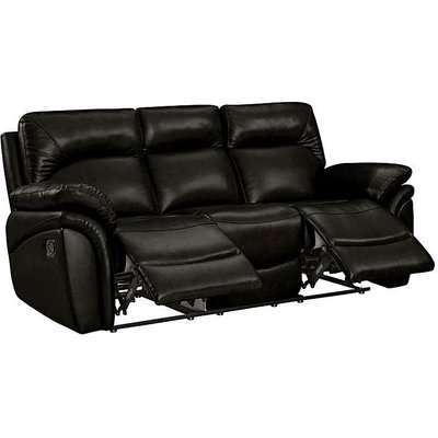 Warwick Leather 3 Seater Recliner Sofa