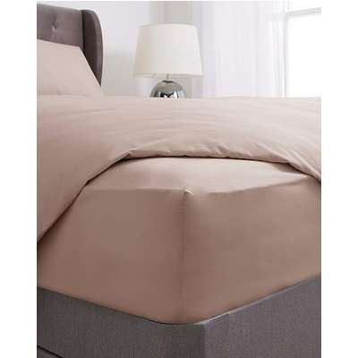 Washed Cotton Deep Fitted Sheet