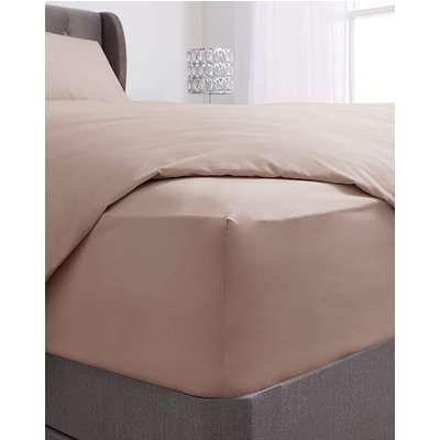 Washed Cotton Extra Deep Fitted Sheet