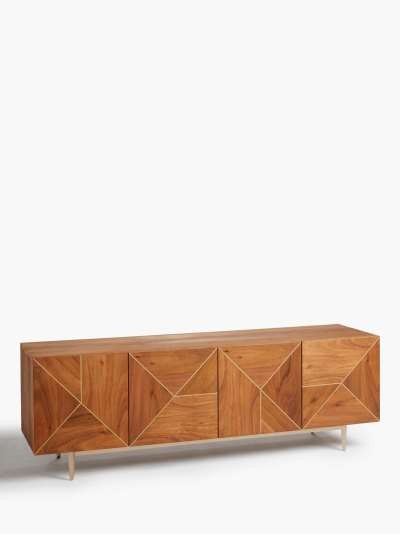 John Lewis & Partners + Swoon Mendel TV Stand Sideboard for TVs up to 65