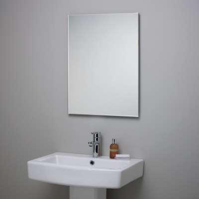 John Lewis & Partners Bevelled Edge Bathroom Mirror