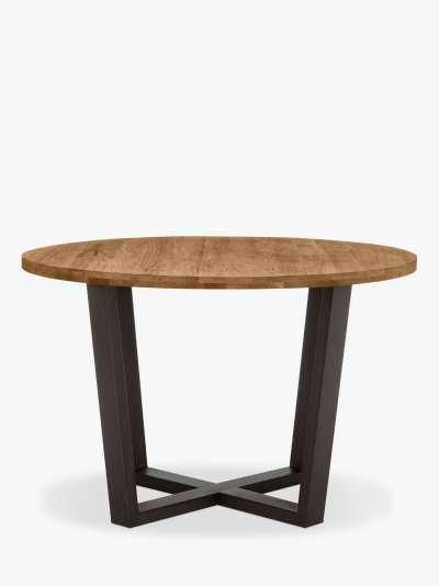 John Lewis & Partners Calia 6 Seater Round Dining Table, Oak