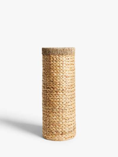 John Lewis & Partners Country Water Hyacinth Umbrella Stand