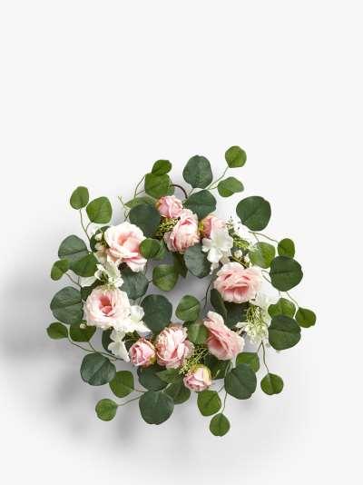 John Lewis & Partners Faux Floral Wedding Wreath