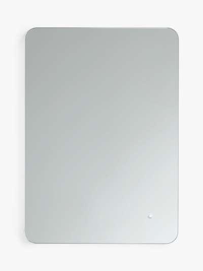 John Lewis & Partners Halo Colour Changing Illuminated Bathroom Mirror