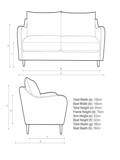 John Lewis & Partners Harp Medium 2 Seater Sofa
