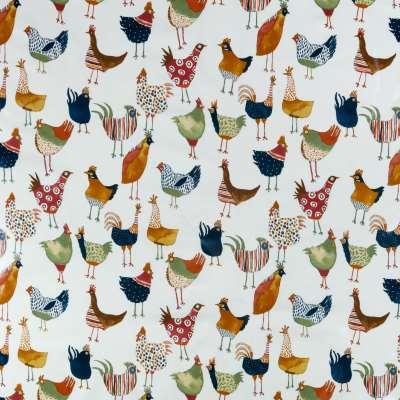 John Lewis & Partners Murray Birds PVC Tablecloth Fabric