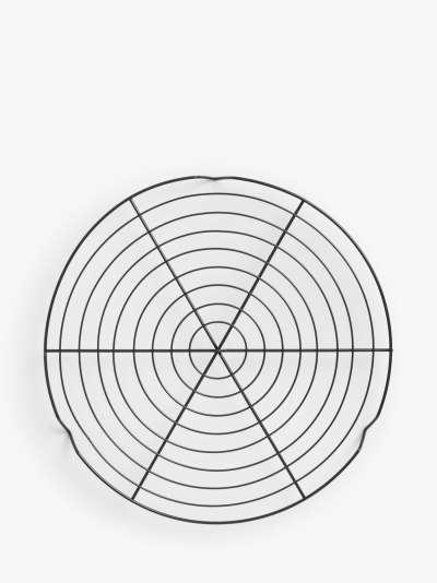 John Lewis & Partners Non-Stick Round Cooling Rack, 30cm