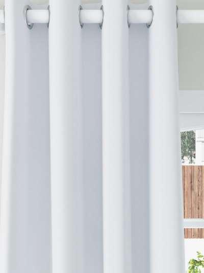 ANYDAY John Lewis & Partners Pair Blackout Coated Eyelet Curtains