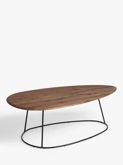 John Lewis & Partners Plectrum Coffee Table, Walnut