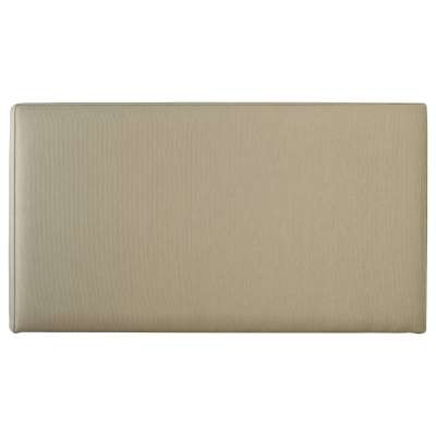 John Lewis & Partners Savoy Guest Bed Headboard, Canvas Pebble, Small Single