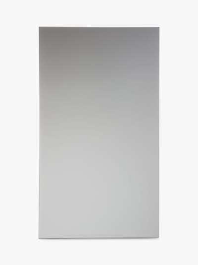 John Lewis & Partners Single Mirrored Bathroom Cabinet, Silver