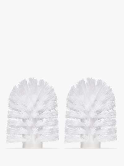 John Lewis & Partners Spare Toilet Brush Head, Medium, 70mm, Pack of 2