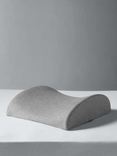 John Lewis & Partners Specialist Synthetic Low Profile Memory Foam Support Pillow, Medium/Firm