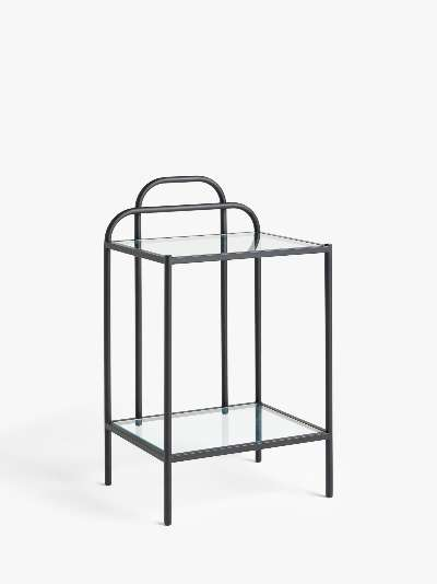 ANYDAY John Lewis & Partners Swirl Metal Side Table