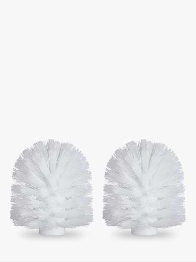 John Lewis & Partners Toilet Brush Head, 85mm, Pack of 2
