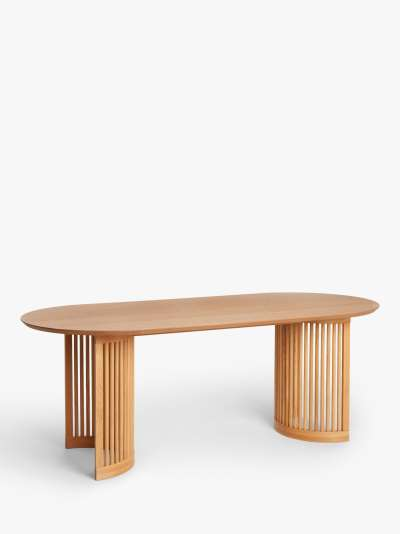 John Lewis & Partners Trestle 6 Seater Dining Table