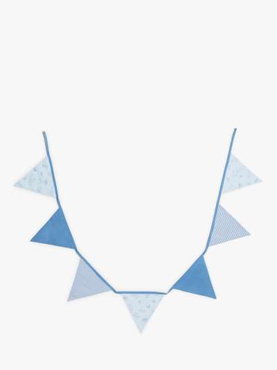 John Lewis & Partners Under The Sea Baby Bunting, Blue