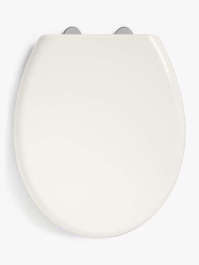 John Lewis & Partners Wrap-Over Toilet Seat, White
