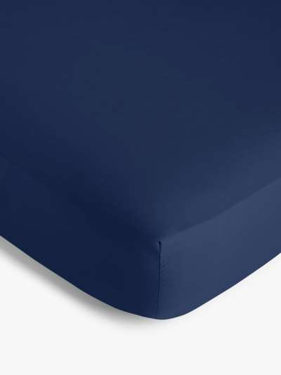 ANYDAY John Lewis & Partners 200 Thread Count Polycotton Deep Fitted Sheet