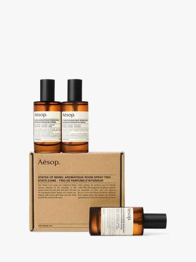 Aesop States of Being: Aromatique Room Spray Trio, 3 x 50ml