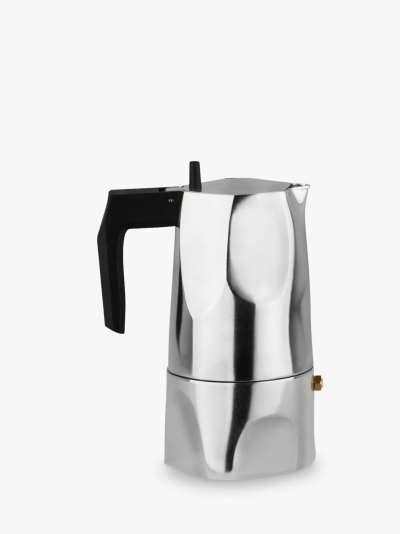 Alessi Ossidiana Espresso Coffee Maker, 3 Cup