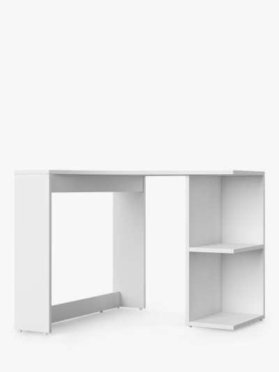 Alphason Chesil Corner Desk, White