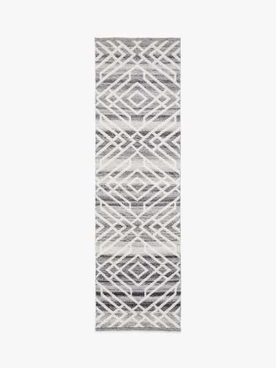 ANYDAY John Lewis & Partners Aztec Indoor & Outdoor Runner Rug, L240 x W70 cm