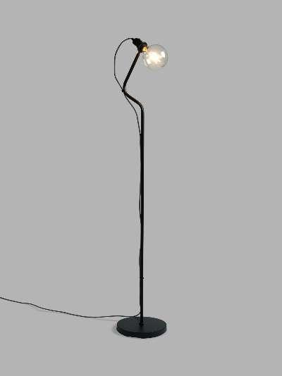 ANYDAY John Lewis & Partners Factor Floor Lamp, Black