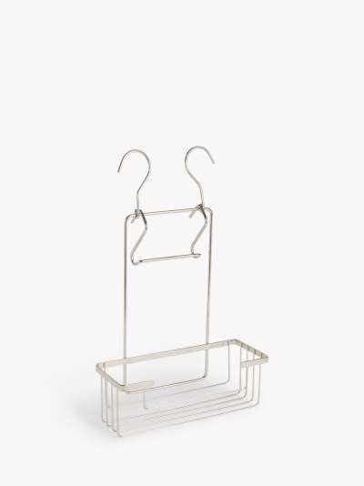 ANYDAY John Lewis & Partners Single Tier Shower Caddy