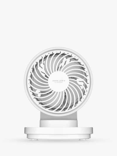 ANYDAY John Lewis & Partners Spectrum USB Desk Fan