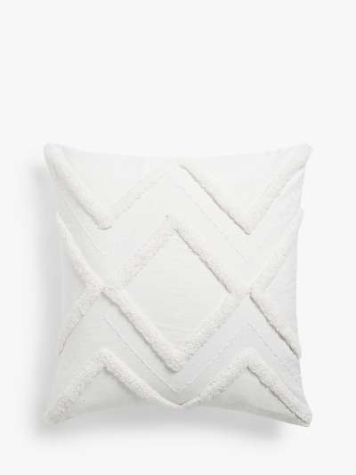 ANYDAY John Lewis & Partners Tufted Diamond Cushion Cover
