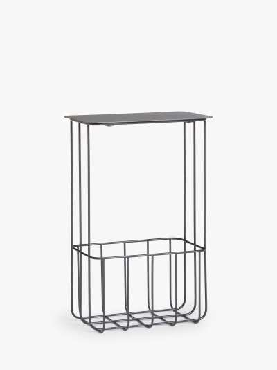 ANYDAY John Lewis & Partners Wire Magazine Rack / Side Table