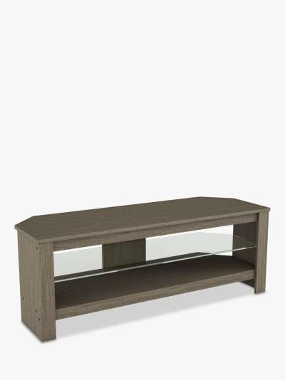 AVF Calibre Plus TV Stand for TVs up to 55, Grey & Glass