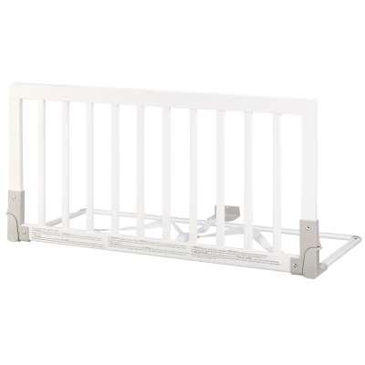 BabyDan Wooden Bed Guard Rail, White