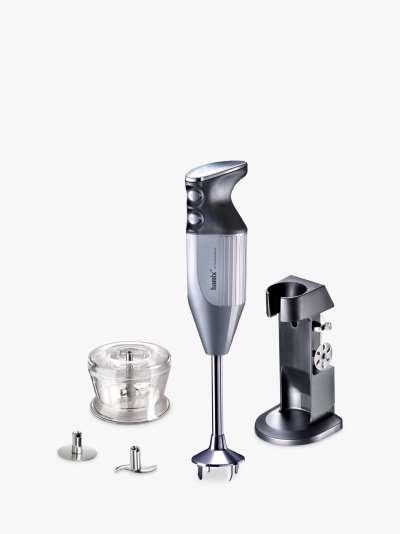 bamix DeLuxe Hand Blender, Silver