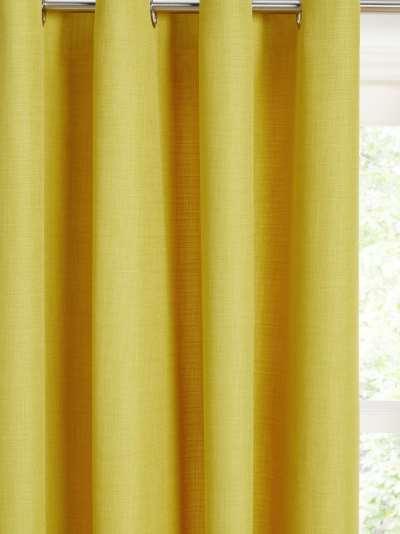 John Lewis & Partners Barathea Pair Lined Eyelet Curtains