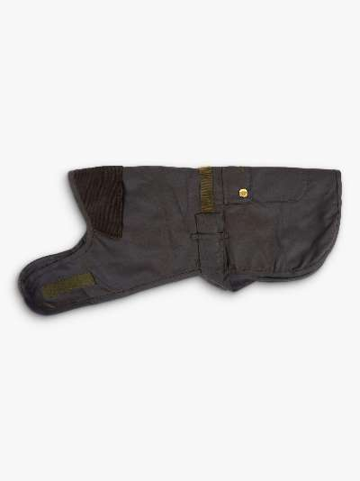 Barbour 2 in 1 Wax Dog Coat, Olive